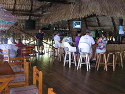 Sunday Football at the Catamaran Bar