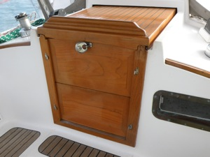 Winterlude's Heavy Companionway Locked