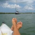 Barefoot Sailing!