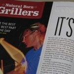 Natural Born Grillers SAIL Magazine, July 2010