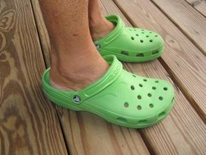 Very Sad, No More Orange Crocs