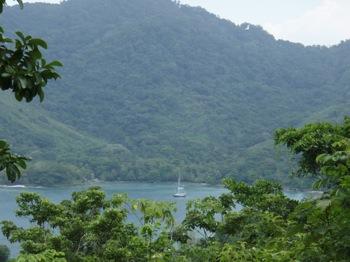 Anchored in Sapzurro Bay