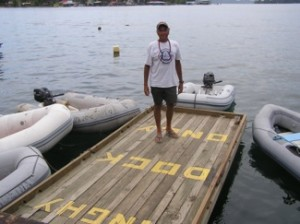 Dinghy Dock, Bocas Del Toro, Panama