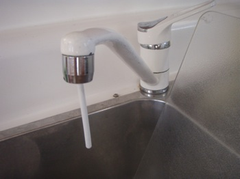 Pressure Water Faucet Conserver
