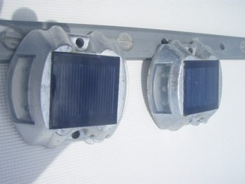 Solar Boarding Lights