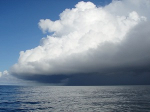 Weather off the Cristobal Jetty, Panama