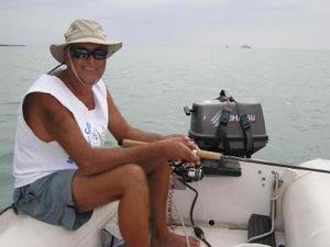 David Dinghy Fishing