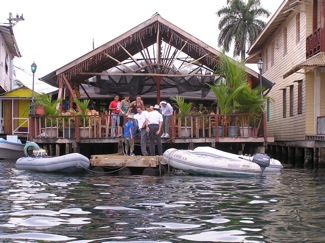 Dinghy Dock in Bocas Town