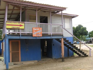 Ther's Laundry, Placencia, Belize