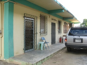 Immigration Locked Door in Independance Belize