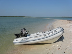 FL Registration Numbers in place exploring the 10,000 Islands, Florida