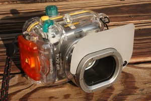 Canon A720IS in Canon Waterproof Case