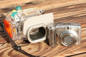 Canon A720IS with Canon Waterproof Case