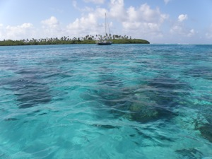 Better Days, Winterlude Anchored in the Holendes Cayes, San Blas Islands, Panama