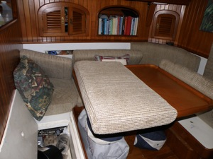 While We're Gone, Cushions Askew, Locker Doors and Bilge Left Open