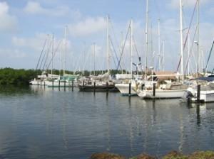 Bocas Marina was a welcome sight!
