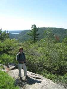 Hiking Acadia Mountan Trail