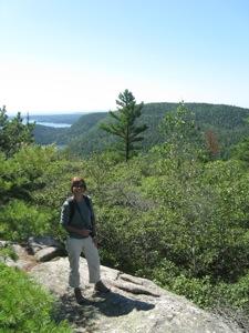 Hiking Acadia Mountan Trail