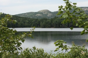 Lower Hadlock Pond ... Yes, Loons Live Here!