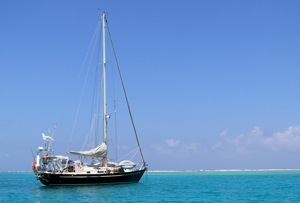 Anchored Behind the Reef, Belize