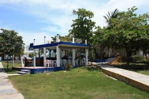 Marina Paraiso Office, Outside Happy Hour Bar & Showers
