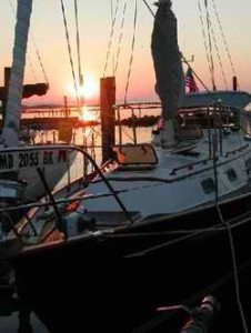 Sunrise 9.12.2001 River Forest Marina, NC