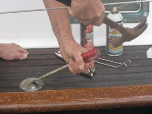 Tap the Top of the Screwdriver Lightly With a Hammer to Allow Penetrating Oil to Penetrate