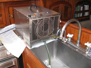 Boat And Rv Interior Dehumidifier Air Dry Systems Dh 5
