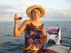 Dinghy Wine Sunset Cruise