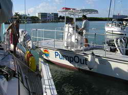 Pumpout Boat