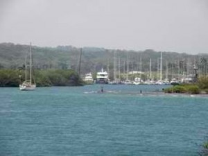 In and Out of Marinas Requires a Reliable Diesel, Shelter Bay Marina, Panama