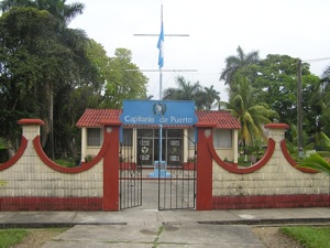 Port Captain's Office, Livingston, Guatemala ... the Entrance to the Rio Dulce