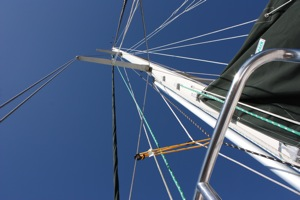 Take a Look -- Can ANYTHING Clang Against the Mast if the WInd Pipes Up?