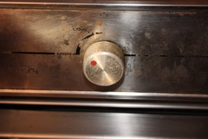 After Shutting Off The Solenoid, Propane Will Burn Out & NOW You Can Shut Off the Burner.