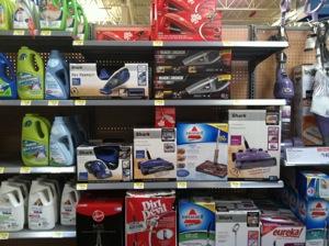 WalMart's Hand Vacuum Selection