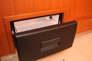 Waeco Freezer Drawer on an Island Packet