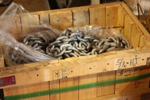 5/16 Hi Test Anchor Chain for $2.75/ft!  WooHoo!