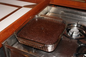 Holding Ground Mud Cake