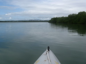 Kayaking Sapodilla Lagoon - No Wind, Another Weather Forecast Gone Awry!