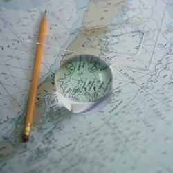 West Marine Chart Magnifier
