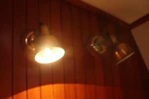 Pullman Berth Reading Light with Sensibulb