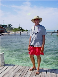 The Ultimate Hat at Glovers Reef Atoll, Belize