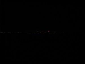 Dark Dark Dark Approaching Seven Mile Bridge, Moser Channel, Marathon