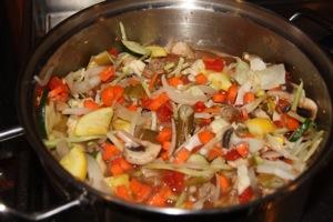 Ummmm.... Garden Stew