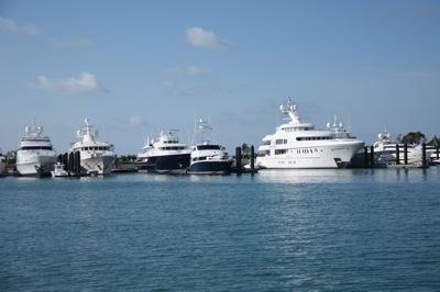 Mega-Yacht Marina!  Albany on New Providence Island, west of Nassau
