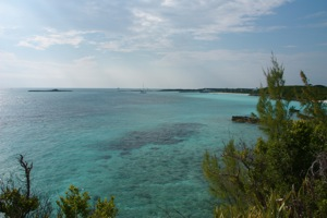 South End of Highbourne Cay Looking Toward Norman Cay