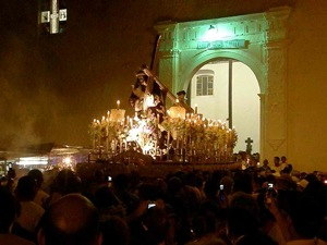 The Easter Black Christ Processional in Portobelo, Panama