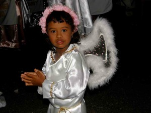 My Favorite Little Easter Angel in the Black Christ Procession