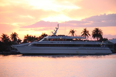 And if you don't want to sail, you can always catch the Key West Express to Key West, leaving from the Rose Marco Marina