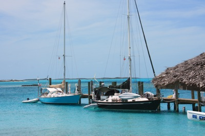 Staniel Cay Yacht Club Dock